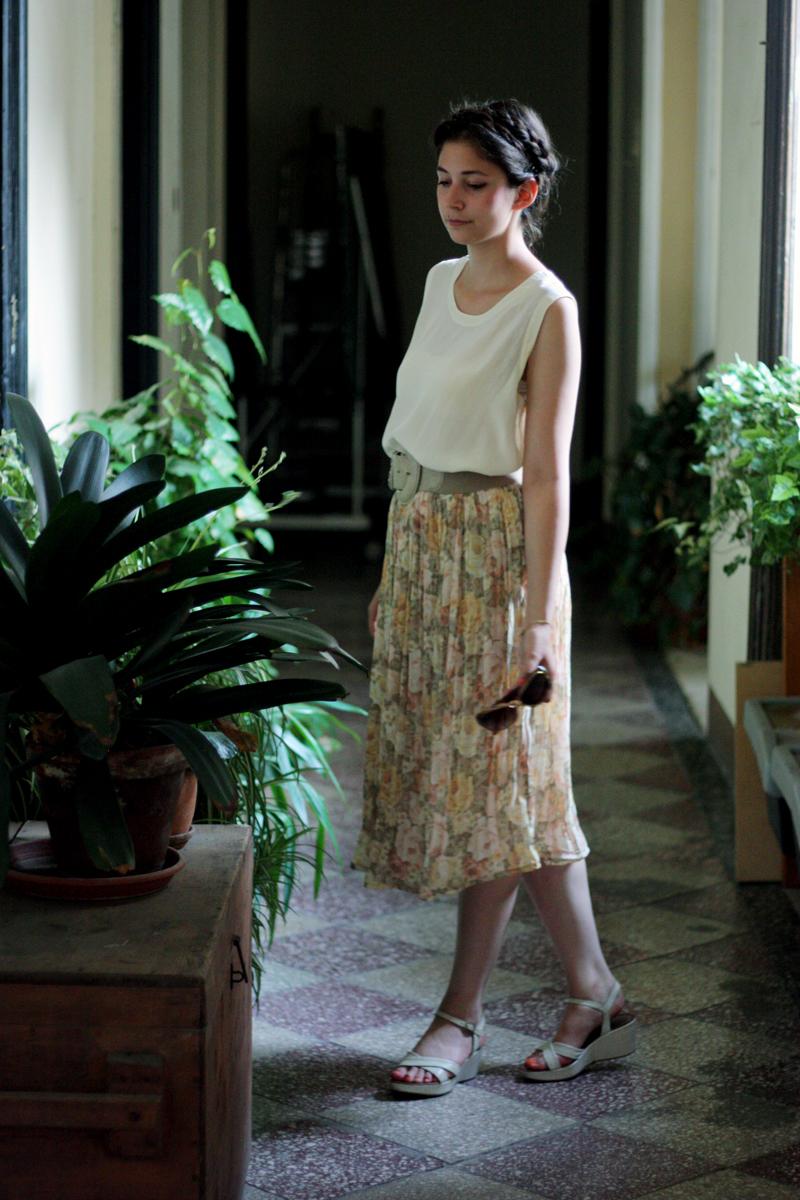 Outfit: Motto Gartenparty - Leonie Rachel